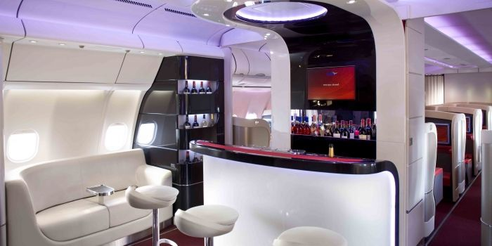 Arik Air onboard bar